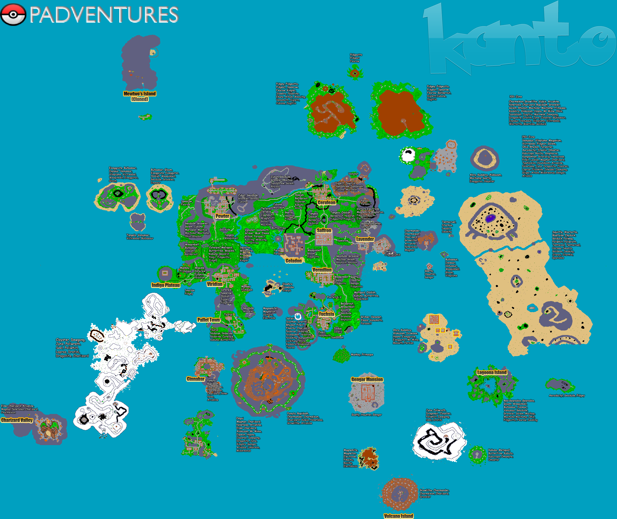 Tibia World Map.Padventures Best Pokemon Online Server Poke Tibia